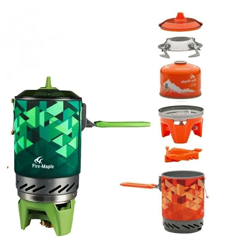 Outdoor Mini Gas Stove Portable Folding Camping Cooking Oven Survival Furnace
