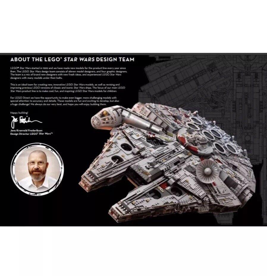 LEGO Star Wars Wars Wars Ultimate Collector Millennium Falcon 75192 Plus 20pc mini Falcon 666cfa