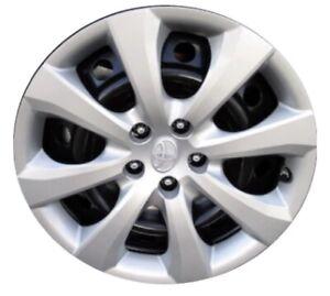 Ring Automotive brl054/C Microline Rectangular Disco Color Blanco Fundas