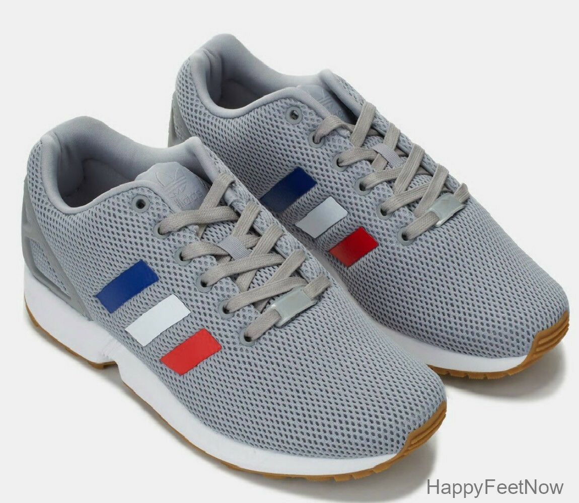 ADIDAS ORIGINALS MEN'S ZX FLUX RUNNING SHOES MEN'S ORIGINALS SIZE US 9 GREY TRICOLOR BB2768 3f48a1