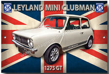 MINI CLUBMAN 1275GT METAL SIGN.CLASSIC BRITISH LEYLAND CARS.CLASSIC SMALL CARS