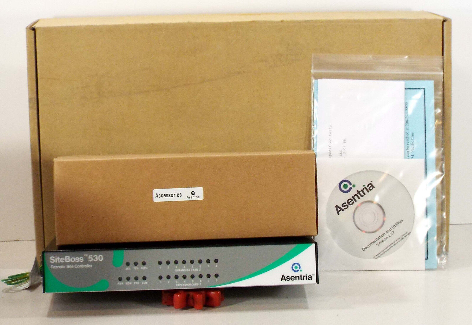 1 NEW ASENTRIA SITEBOSS 530 REMOTE SITE CONTROLLER NIB MAKE OFFER