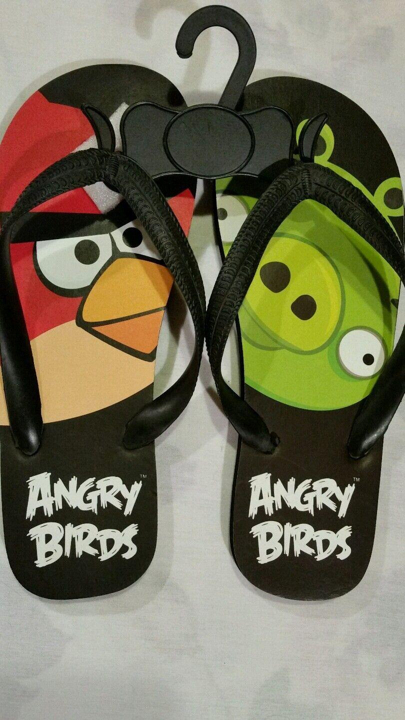 Women's or teens Angry Bird BRAND Flip Flops, SIZE 8, BRAND Bird NEW 82b458