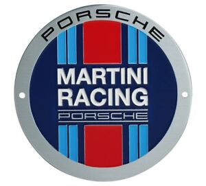 Image Is Loading Genuine Porsche Grill Badge Martini Racing Limited Germany