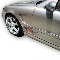 S Class 00-06 W220 Mercedes L Style Poly Fiberglass Body Kit Fenders Pair