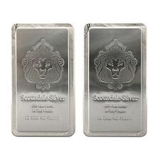 "-- SKU #64010 Scottsdale Mint 10 oz .999 Fine Silver Bar /""The Stacker/"" r"