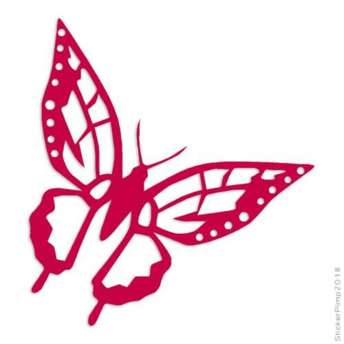 Size #805 Butterfly Monarch Decal Sticker Choose Color