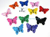 Wholesale Lot Of 12 Butterfly Embroidery Iron On Patch Cheap Iron On Patches
