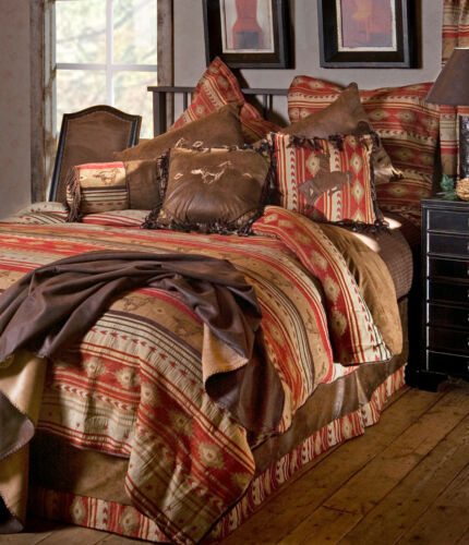 Flying Horse 5 Piece Comforter Bedding Set with Drapes Option - FREE SHIPPING