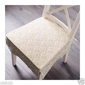 Ikea Elsebet Chair Pad Beige Indoor Outdoor Patio Kitchen