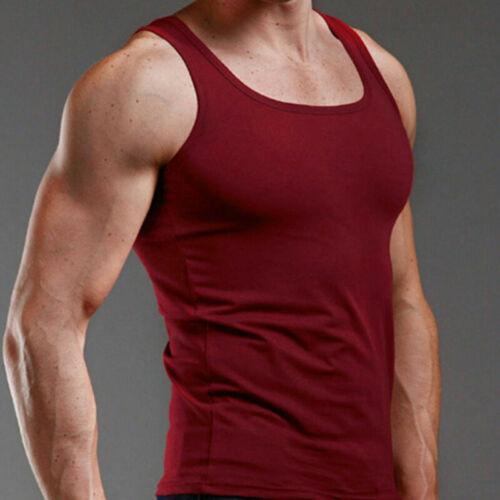 Men/'s Tank Top T-Shirt Muscle Camo Tee Bodybuilding Sports Fitness Gym Vests Top