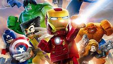 Poster 42x24 cm Vengadores Avengers Lego