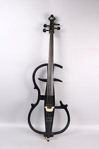 Cellos Cooperative 4/4 Cello Black Electric Cello Full Size Sweet Sound Cello Bag Bow Yinfente Big Clearance Sale