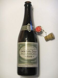 Details about Boulevard Brewing - Imperial Stout 2014 - Empty 750ml Bomber  Beer Bottle Limited