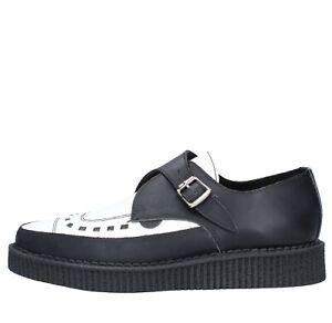 Image is loading Amf15-unde-Shoes-Creeper-Classic-Underground-Man-White- 5dd30fa502c
