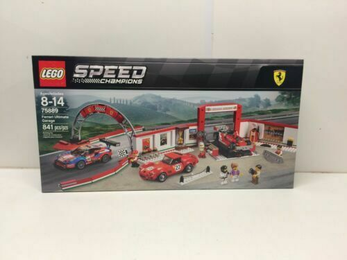 LEGO Speed Champions 2018 Ferrari Ultimate Garage (75889) for sale online