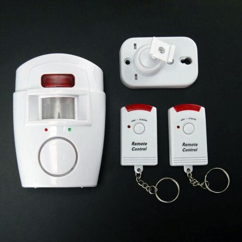Einbrecheralarm Kabellos Infrarot Detektor Elektronischer Wachhund Fernbedienung
