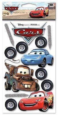 Jolee's Disney CARS Stickers LIGHTNING MCQUEEN MATER SALLY CARRERA