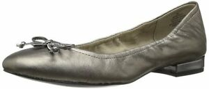 Womens Shoes Anne Klein Petrica Pewter Leather