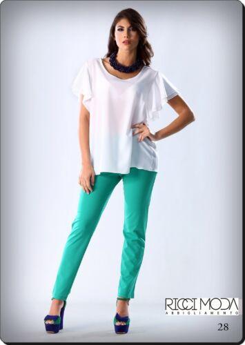 1301300013 Pantalones Femme Made 130 Pantalon In Pantaloni Italy Donna Mujer 13 qzw4v4