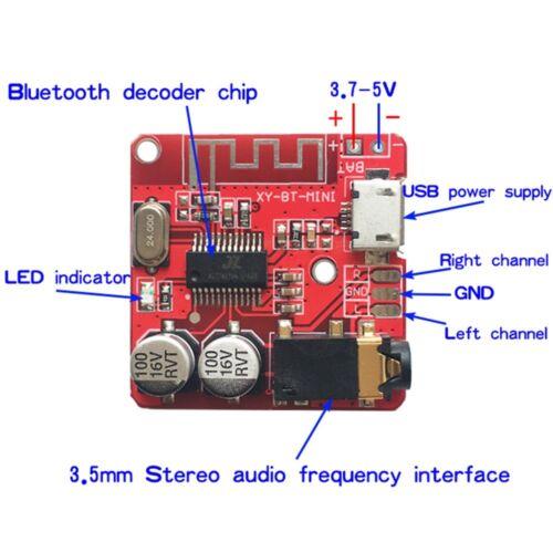 Bluetooth 4.1 decodificador Board MP3 Altavoz para automóvil sin pérdidas modificado placa de circuito Cg