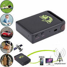 TK102A Mini Car GSM GPRS GPS Tracker Car Vehicle Tracking Locator w/ Charger New