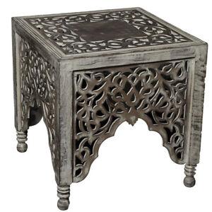 Beistelltisch sofatisch couchtisch wohnzimmer tisch for Couchtisch orientalisch
