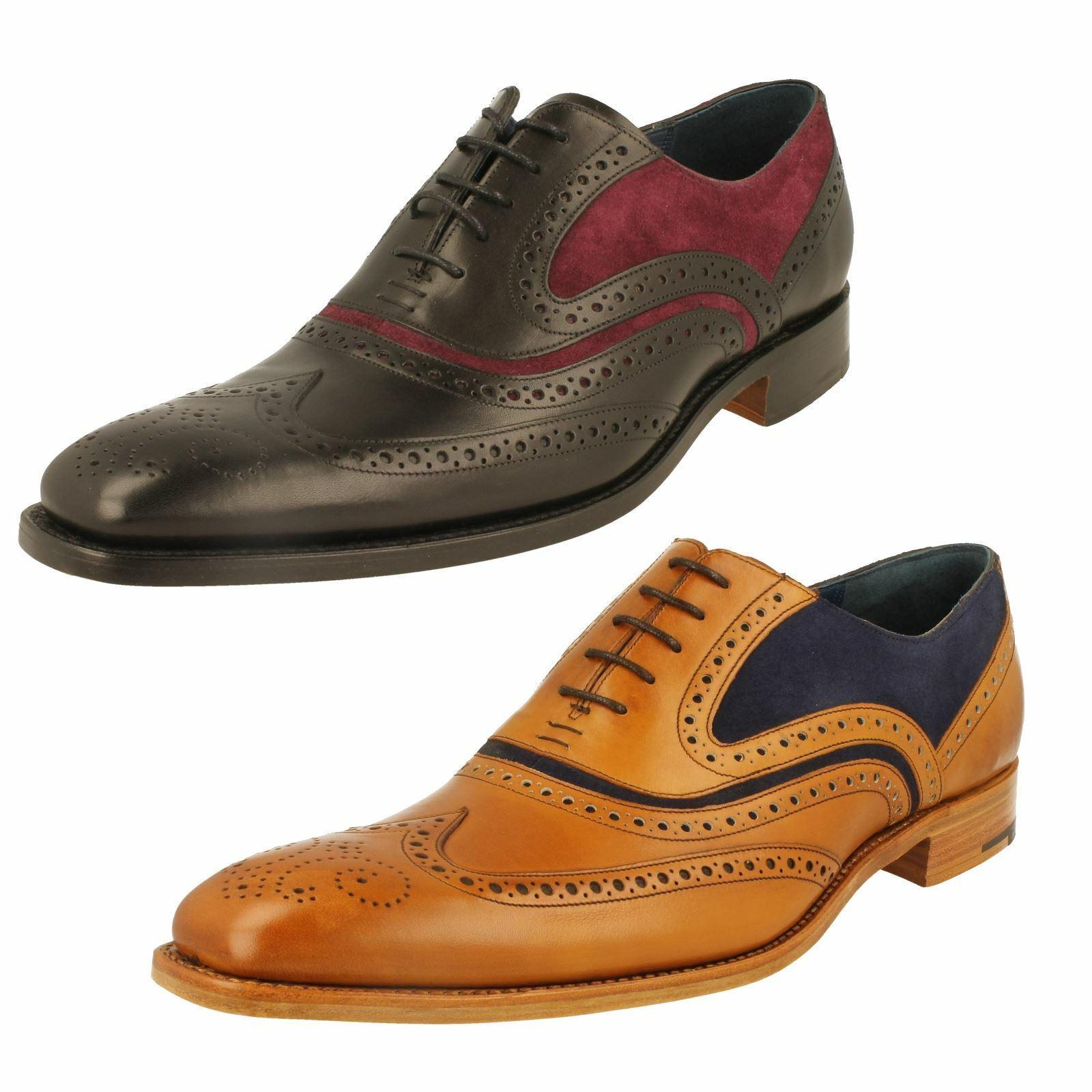 Barker Mens Formal Brogue shoes McClean