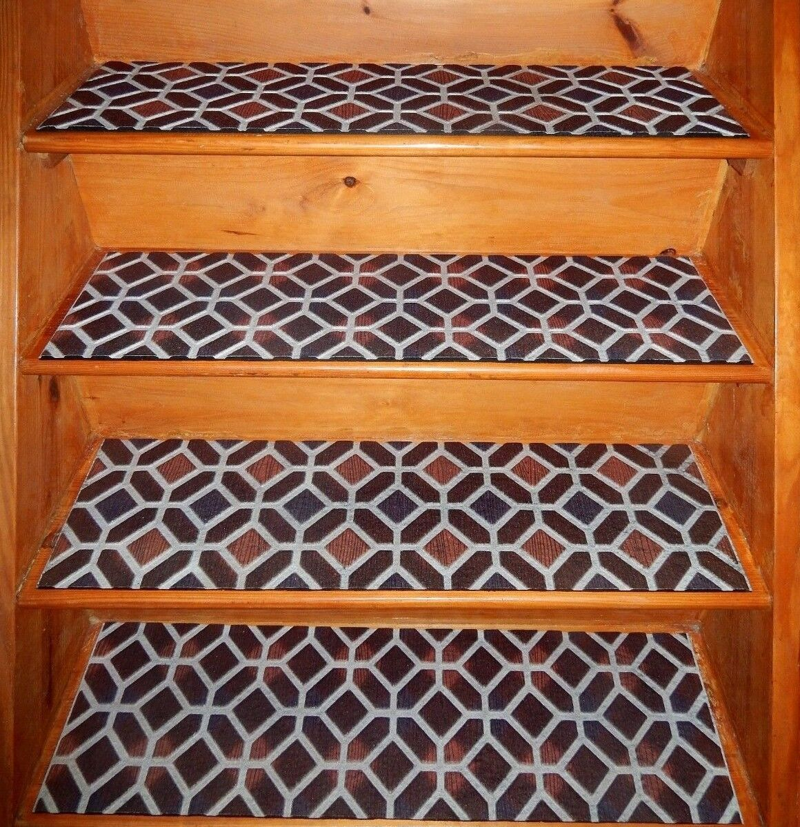4 Step 10 X 36 100 Rubber Outdoor Stair Treads For Sale Online