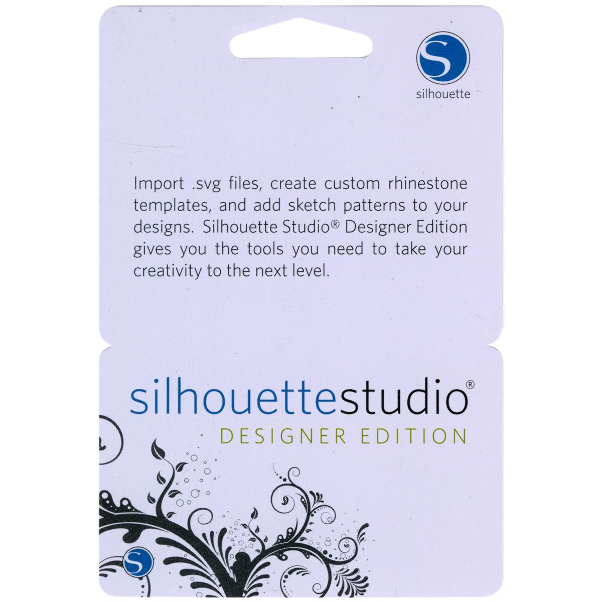 License Code Silhouette Studio Plus Designer Edition Software Cameo Curio For Sale Online Ebay