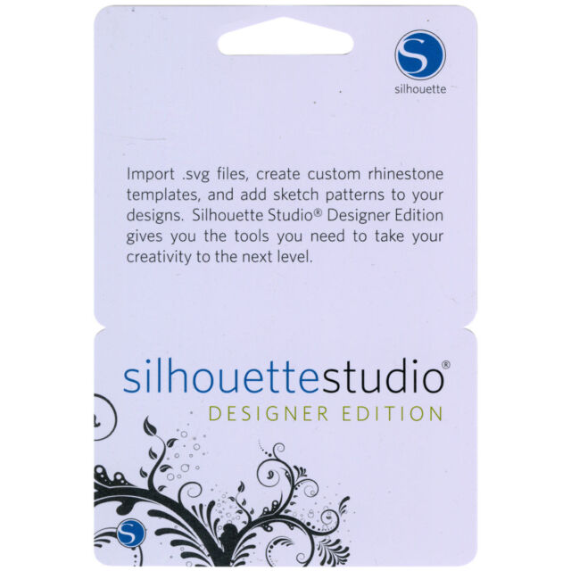License Code Silhouette Studio Plus Designer Edition Software Cameo Curio For Sale Online Ebay