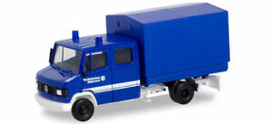 Herpa-Basic-094801-Mercedes-Benz-T2-Crew-Cabin-with-Tarpaulin-THW-Model-1-87
