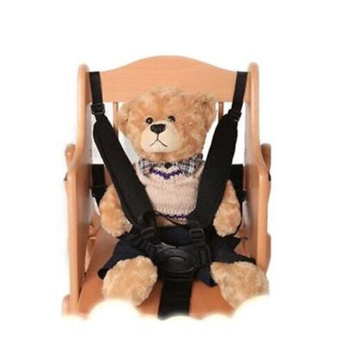 Baby Infants 5 Point Harness Stroller High Chair Pram Buggy Car Safe Belt Strap