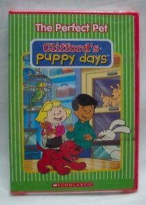 Details about CLIFFORD\'S PUPPY DAYS The Perfect Pet DVD NEW 90 MINUTES  LONG!!!