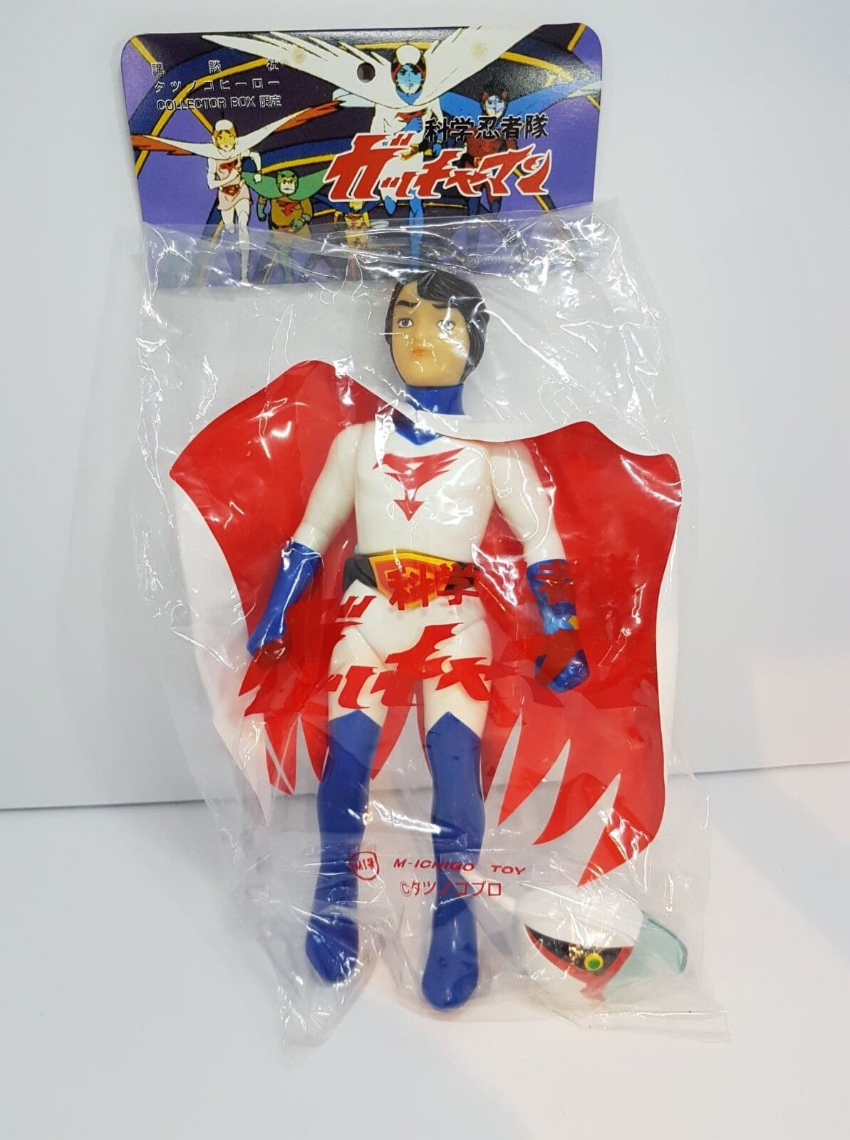 Ken Washio The Eagle 10  figure G Force Gatchaman (2001) Exclusive M1
