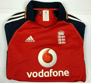 England One Day Cricket Team Jersey Adidas Men's Size Small Official Product