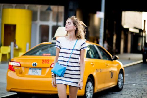 Uk8 Chiara Robe Rayures Ferragni Zara Paillettes Taille Blogueurs S q8tPvzyOU