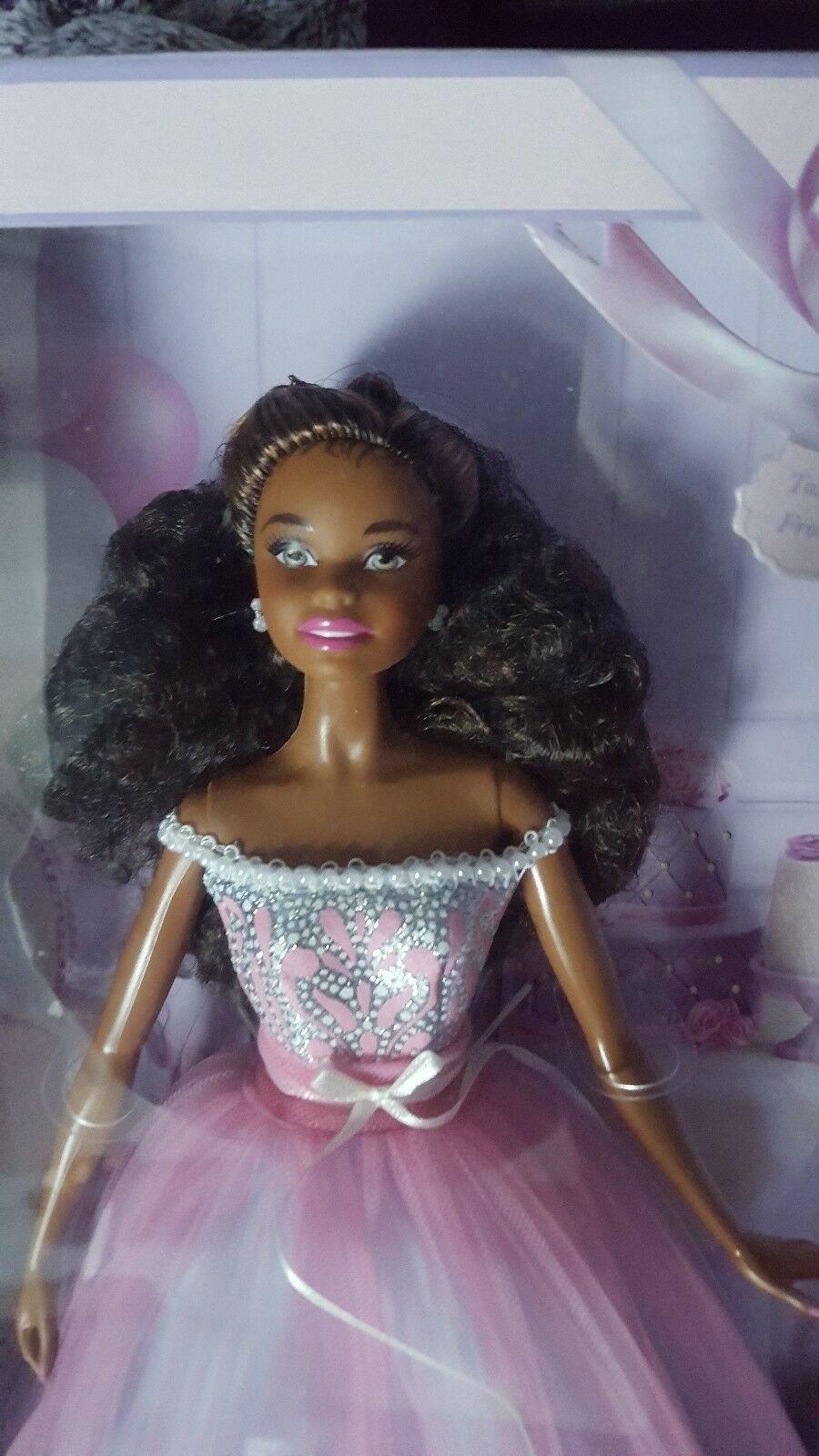Barbie Birthday Wishes 2017 AA Afrikan Amerikan Collector 91ae08
