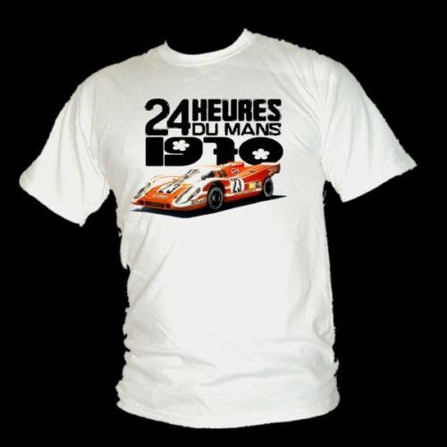 1970 Herrmann /& Attwood Porsche 917 LE MANS WINNER Race legend t shirt