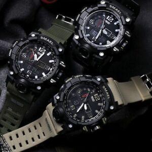 Nuova-Smael-Multifunzione-Militare-Digitale-Led-Sport-Orologio-da-Polso