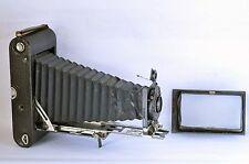 C. P. Goerz Roll Tenax 8x14cm Postcard Size Folding View Camera Made in Germany