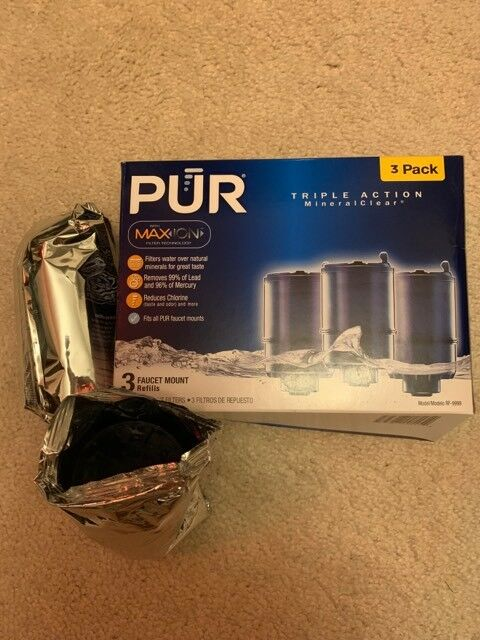Lot 5 NEW PUR PITCHER REFILL REPLACEMENT FILTER CRF-950Z MAXION TECHNOLOGY