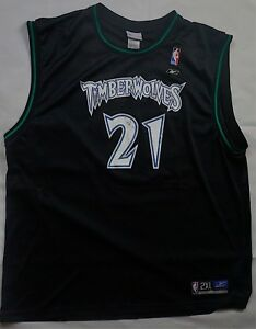 detailed look 432ed 22c94 Rare Vintage REEBOK Kevin Garnett Minnesota Timberwolves NBA ...