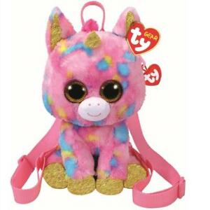 Ty Beanie Babies 95001 Ty Gear Fantasia Unicorn Boo Back Pack ... 8975c699733