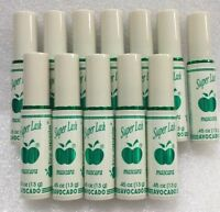 12 Lot Super Lash Mascara By Apple Cosmetics Aguacate/avocado