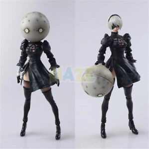 Anime-NieR-Automata-2B-YoRHa-No-2-Neal-6-034-PVC-Action-Figure-Model-Toy