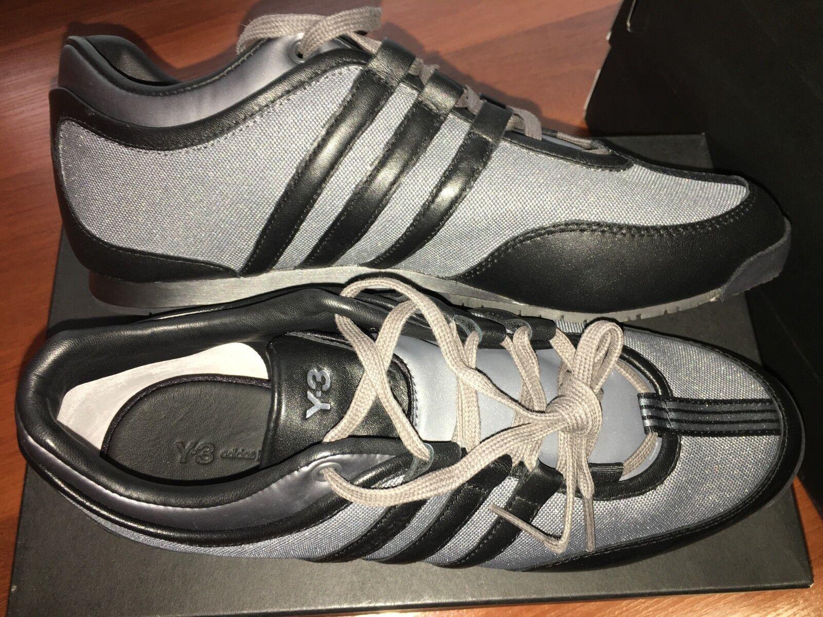 Adidas y-3 bb4720 yohji yamamoto box - trainer schwarz metallic bb4720 y-3 nacht grau selten 216265
