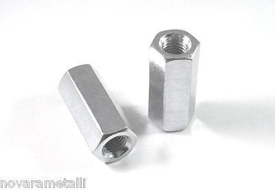 20 esagoni di giunzione x barre filettate M12x 40mm coupling nuts écrous tuercas