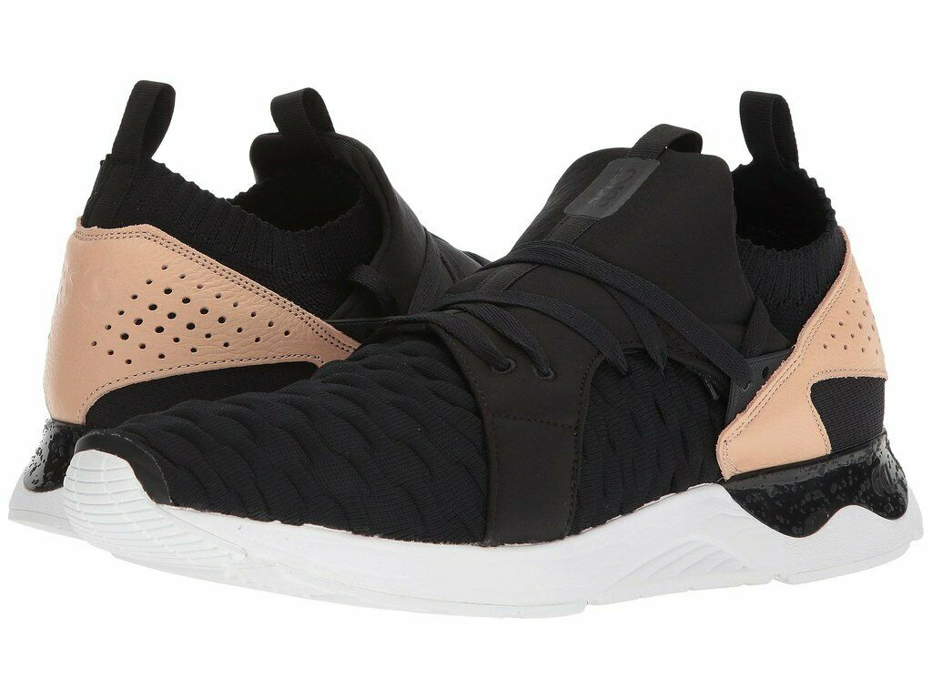 Asics Gel-Lyte V Sanze Knit Men's Black Sneaker shoes H800N-9090