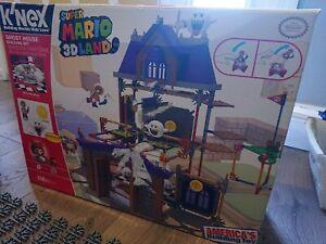 K'NEX Nintendo Super Mario 3D Land Ghost House Building Set Boos Mario 99%